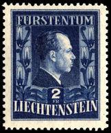 Liechtenstein 1951-52 2f Francis Joseph Perf 12½ Lightly Mounted Mint. - Liechtenstein