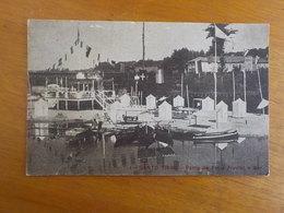 8846) Portugal Santo Tirso Parte Da Praia Fluvial E Bar Ed.tip. Centrral Santo Tirso - Porto