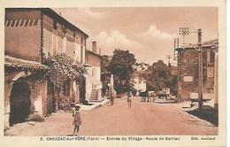 (A) Cahuzac Sur Vére : Entrée Du Village - Route De Gaillac - France