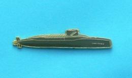 1 PIN'S //   ** L'INFLEXIBLE  S 615 S.N.L.E / SOUS-MARIN NUCLÉAIRE LANCEUR D'ENGINS ** . (J.Y. Segalen) - Militaria