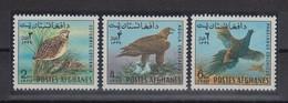 Afghanistan 1970 Vögel Mi.-Nr. 1082-1084 Satz 3 Werte **  - Afghanistan