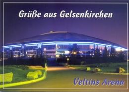 STADIUM POSTCARD STADIO ESTADIO STADE STADION VELTINS ARENA, EN GELSENKIRCHEN - Stades