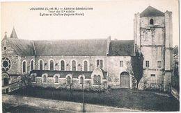 JOUARRE .77. église Et Cloitre. Abbaye . - Other Municipalities