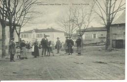 (A) Cahuzac Sur Vére : Route Et Fontaine - France