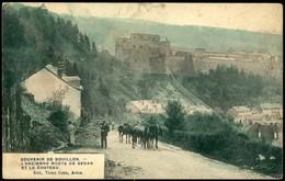 Bouillon : Ancienne Route De Sédan Et Le Château - Bouillon