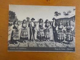 8848) Portugal Costumes Portugueses Viana Do Castelo Meadela Traje De Festa Ed. Casa Aires - Viana Do Castelo