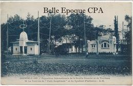 38 - GRENOBLE - 1925 - Exposition De La Houille Blanche Et Du Tourisme - Pavillon Du Petit Dauphinois +++ A.M. +++ - Grenoble