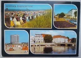ROSTOCK - WARNEMÜNDE - Strand - Strandhotel - Hotel Neptun - HO Gaststatte Broilerstube  Vg DDR - G2 - Rostock