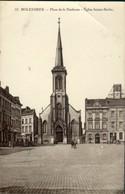 Molenbeek : Place De La Duchesse - Eglise Ste Barbe - St-Jans-Molenbeek - Molenbeek-St-Jean