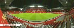 STADIUM POSTCARD STADIO ESTADIO STADE STADION ANFIELD ROAD EN LIVERPOOL - Stadiums