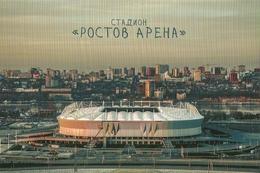 STADIUM POSTCARD ESTADIO STADIO STADION STADE ROSTOV ARENA, EN ROSTOV - Stades