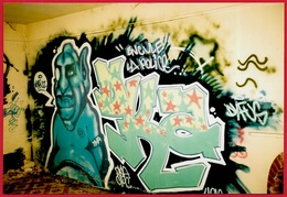 PHOTO Photographie TAG - STREET ART - GRAFFITI - ART URBAIN - Photographs