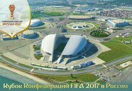 STADIUM POSTCARD ESTADIO STADIO STADION STADE FISHT, EN SOCHI - Stades