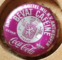 Vieille Capsules Kroonkurk COCA COLA ROSE - Soda