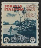 Somalia Scott # C1 Used View Of Coast, 1934, CV$21.00 - Somalia