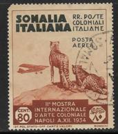 Somalia Scott # C4 Used Cheetahs, 1934, CV$21.00 - Somalia