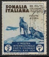 Somalia Scott # C6 Used Cheetahs, 1934, CV$45.00 - Somalia