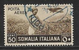 Somalia Scott # C8 Used Picking Cotton, 1936 - Somalia