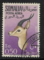 Somalia Scott # C42 Used Gazelle, 1955 - Somalia