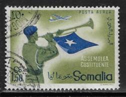 Somalia Scott # C60 Used Police Bugler, 1959 - Somalia