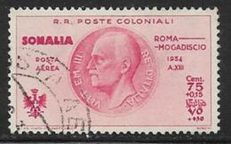 Somalia Scott # CB2 Used Victor Emmanuel Lll, 1934, CV$26.00 - Somalia