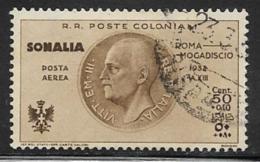 Somalia Scott # CB3 Used Victor Emmanuel Lll, 1934, CV$26.00 - Somalia