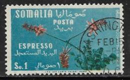 Somalia Scott # E11 Used Flowers,1955 - Somalia