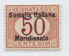 Somalia Scott # J6 MNH Italy Postage Due Stamp,1906  CV$115.00 - Somalia