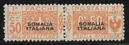 Somalia Scott # Q5 Mint Hinged Italy Parcel Post Stamp,1917, CV$140.00 - Somalia