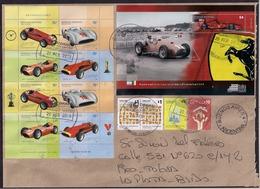 Argentina - 2019 - Lettre - Formula 1 - Ferrari 375 (1951) - F60 (2009) - Voitures De Course - Argentinien