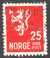 Norway - Scott #197A Used (1) - Norway
