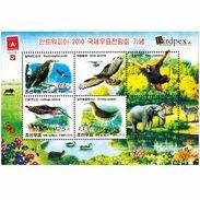 North Korea  2010 Antwerp International Stamp Exhibition Sheet - Korea, North