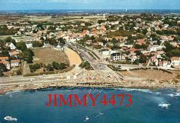 CPM - Vue Aérienne De La Grande Plage En 1975 - PREFAILLES 44 Loire Atlantique - Imp. CIM - COMBIER - Scans Recto-Verso - Préfailles