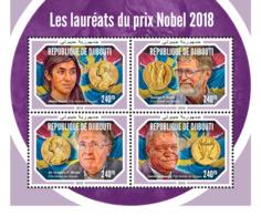 Djibouti 2018  Nobel Prize Winners 2018   S201901 - Djibouti (1977-...)