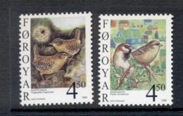 Faroe Is 1998 Birds MUH - Faroe Islands