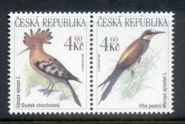 Czech Republic 1999 Protected Birds MUH - Czech Republic