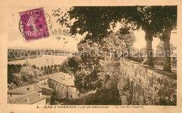 Kq01563 Mas D_Agenais_Le Un Coin Des Remparts Mas D_Agenais_Le - France