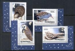 Romania 1998 Night Birds MUH - 1948-.... Republics