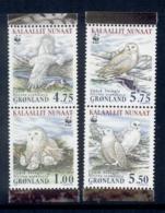 Greenland 1999 WWF Birds, Owl MUH - Unused Stamps