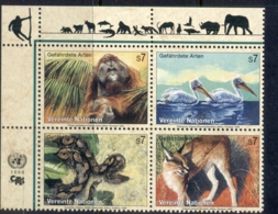 UN Vienna 1999 Endangered Species MUH - Vienna – International Centre