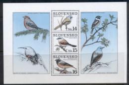 Slovakia 1999 Birds MS MUH - Slovakia