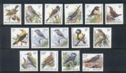 Belgium 1998 On Birds Asst MUH - Belgium