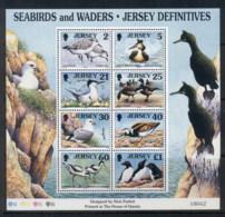 Jersey 1998 Seabirds & Waders MS MUH - Jersey