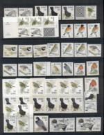 Ireland 1998 On Birds Asst Inc. Vars, Booklets, Coils MUH - 1949-... République D'Irlande