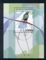 Benin 1996 Bird Of Paradise MS CTO - Benin - Dahomey (1960-...)