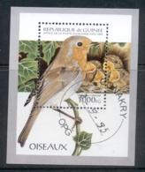 Guinea 1995 Birds MS CTO - Guinea (1958-...)