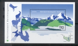 Germany 1999 National Parks MS MUH - [7] Federal Republic