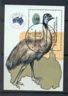 Caribbean Is 1984 AUSIPEX Bird MS CTO - Cuba