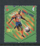 New Caledonia 2002 World Cup Soccer MUH - Unused Stamps