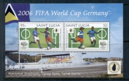 St Lucia 2006 World Cup Soccer - St.Lucia (1979-...)